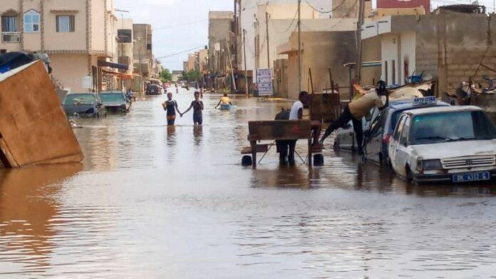 Inondations à Touba : cinq enfants emportés par les eaux de pluie