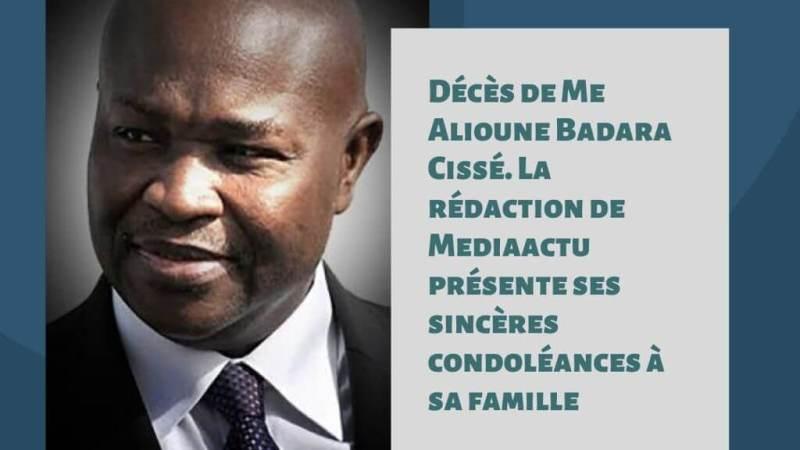 Nécrologie : décès de Alioune Badara Cisse, la république perd son médiateur
