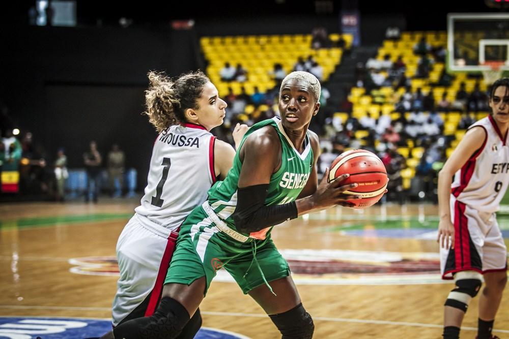 Afrobasket féminin 2021 : Suivez en DIRECT le match Égypte-Sénégal
