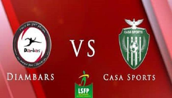 Coupe du Sénégal : la finale entre le Casa Sports et Diambars se jouera en présence du public