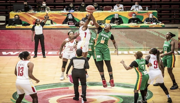 Afrobasket : le Sénégal battu par les Cameroun, les Lionnes pas sur le podium