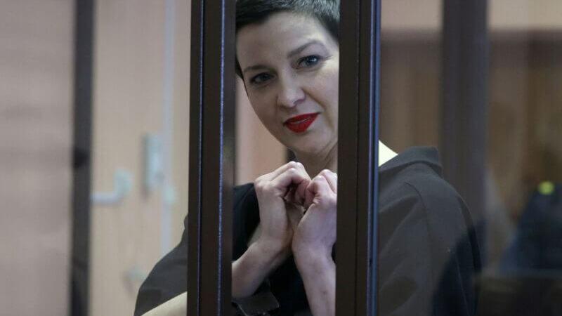 Biélorussie : la figure de l'opposition Kolesnikova condamnée à 11 ans de prison
