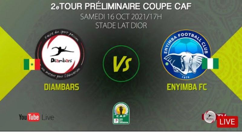 Live : Diambars-Enyimba