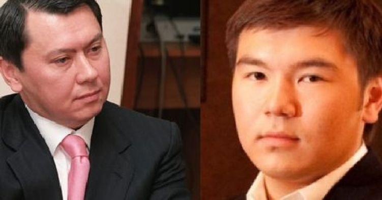 Алиев Рахат, Назарбаев Айсултан