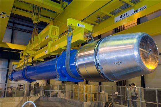 Um magneto do LHC