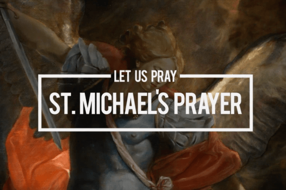 Pray - St. Michael Prayer