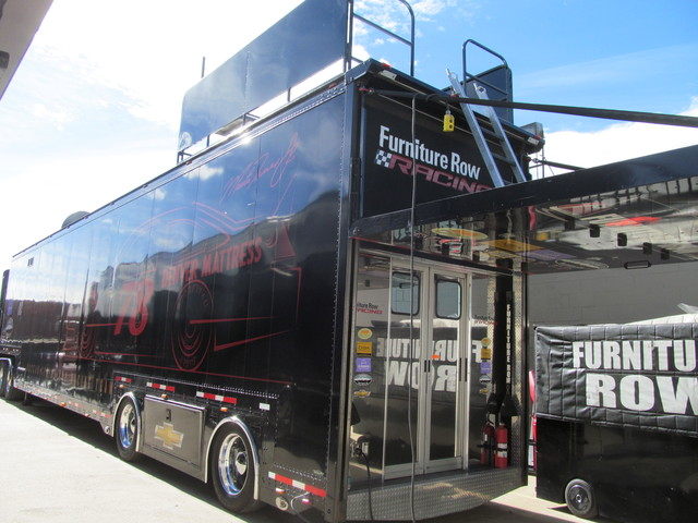 Furniture Row Racing Shop Tours Online Information