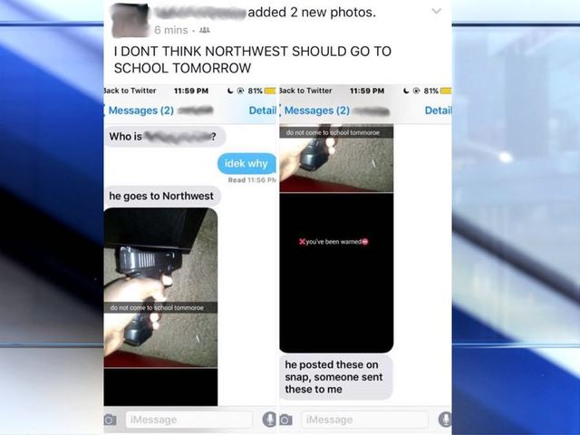 PD Northwest High School Student Arrested After School
