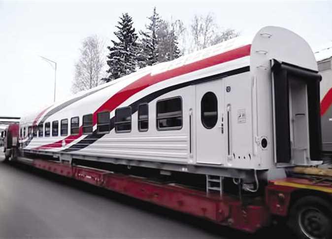 السكة الحديد»: بدء اختبار عربات القطار الروسية | المصري اليوم
