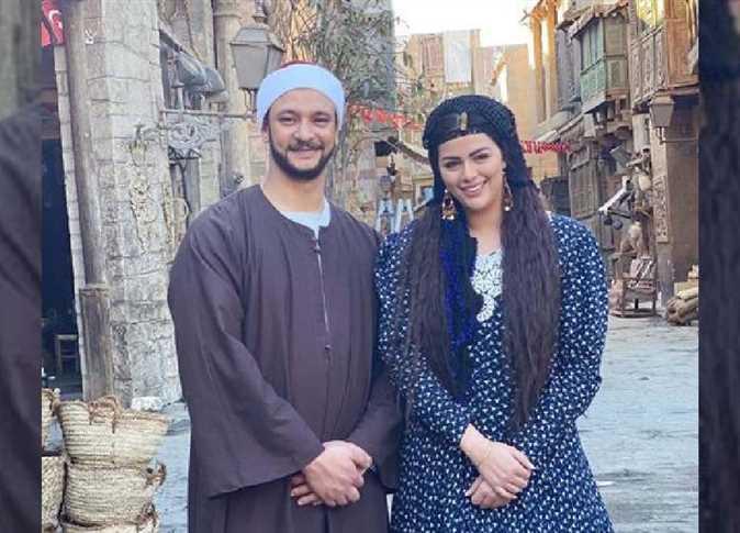 أول فيديو من عقد قران أحمد خالد صالح على هنادي مهنا   المصري اليوم