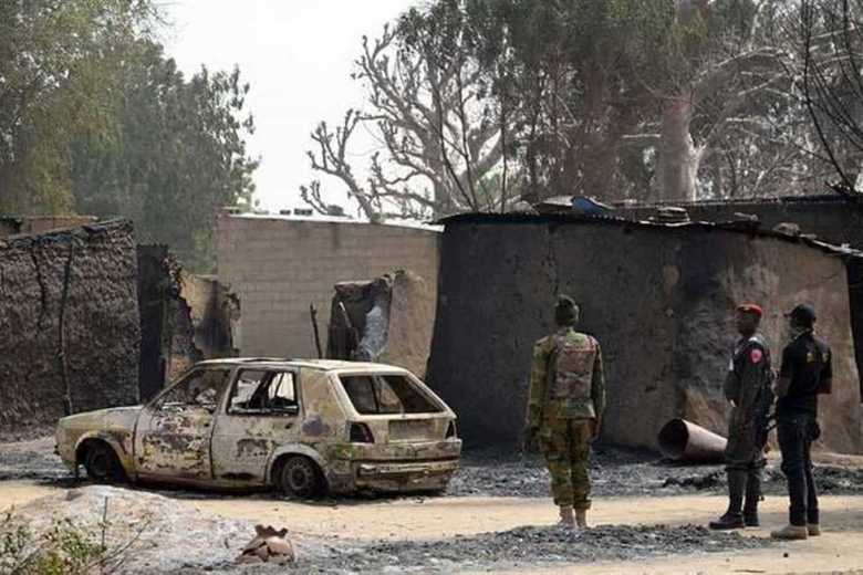 Within 4 days, militants kill about 30 soldiers in northeastern Nigeria -  Around World journal
