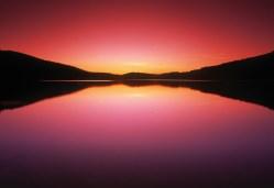 Media Bakery ID: DSP0103645 Reesor Lake At Sunset, Cypress Hills Interprovincial Park, Alberta, Canada