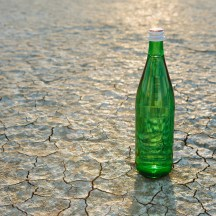 Media Bakery ID: MNT0004694 The landscape of the Black Rock Desert in Nevada. An essential element for survival. A bottle of water. Filtered mineral water.