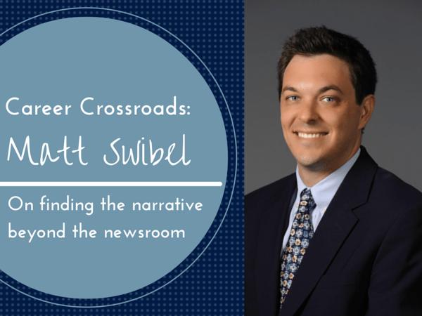 career crossroads matt swibel