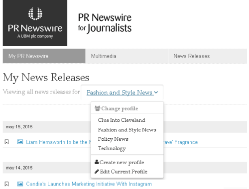 News feed screenshot 1