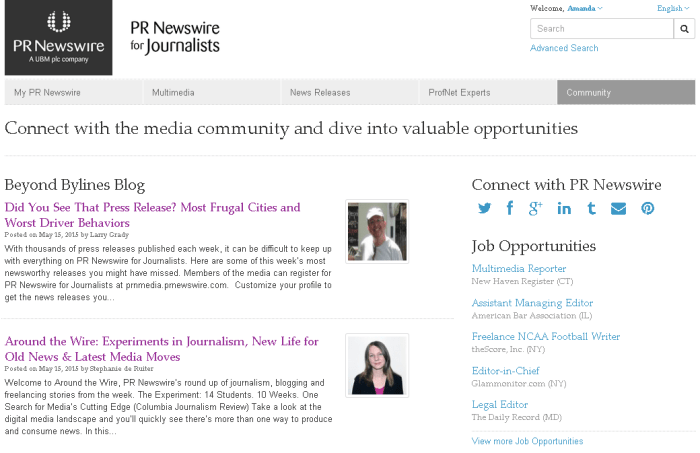 News feed screenshot 4