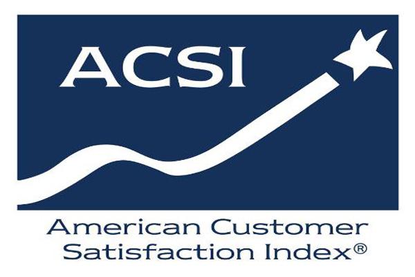 Source: PRNewsFoto/American Customer Satisfaction Index