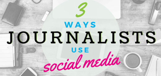 journalists on social