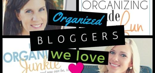 organized bloggers