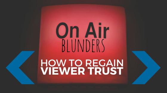 TV Broadcast - On-Air Blunders
