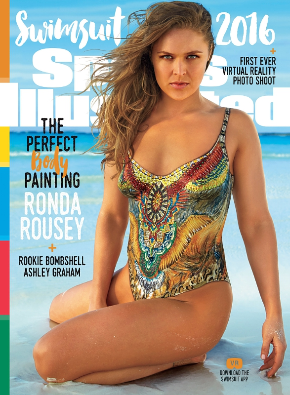Sports Illustrated cover Ronda Rousey
