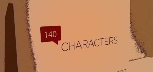 140 characters in Twitter