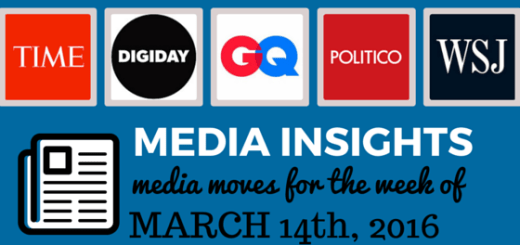 media moves and news