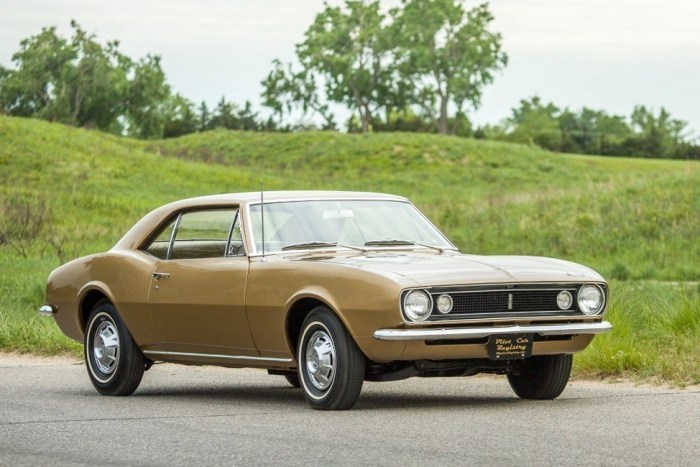 chevrolet camero turns 50