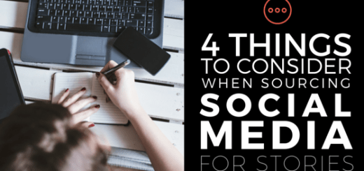 sourcing social media for stories
