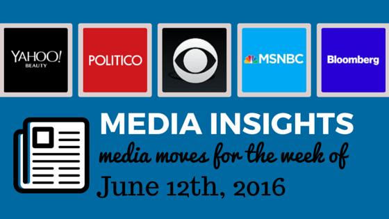 INFLUENCER INSIGHTS, media moves
