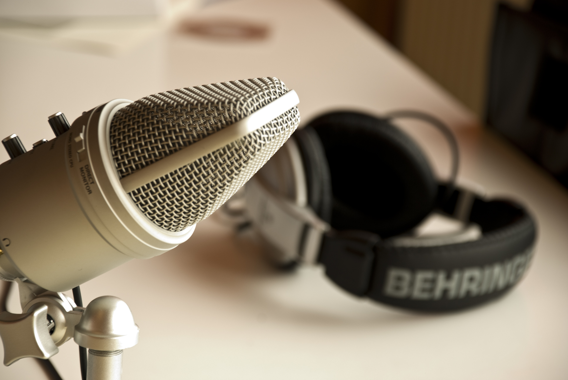 podcast equiptment