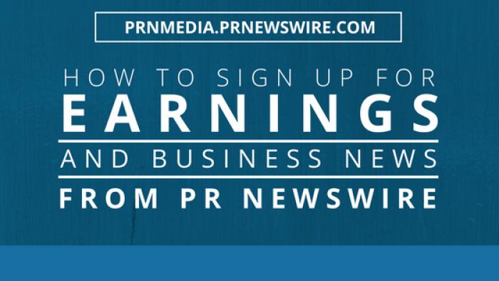 PR Newswire for Journalists Earnings News
