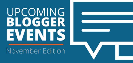 November blogger events