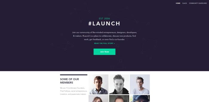 launch slack channel
