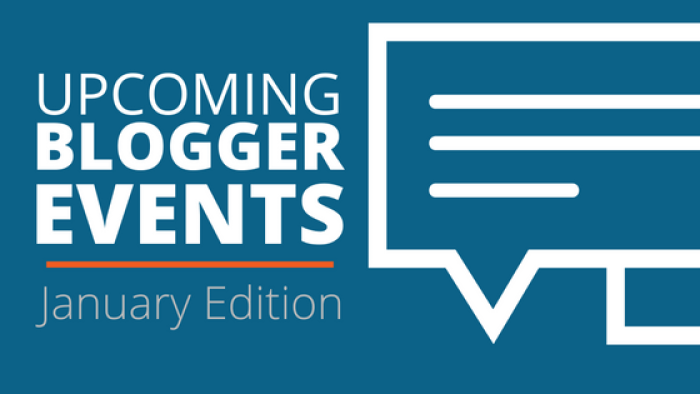 january blogger events