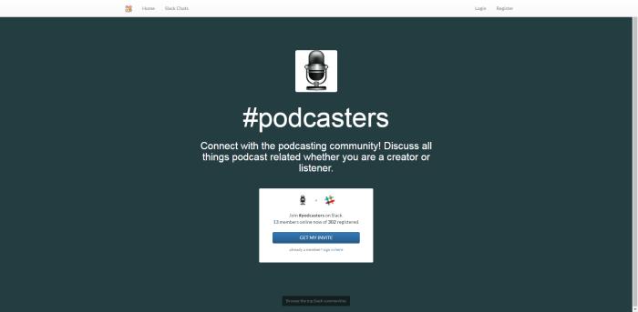 podcasters-slack-chat