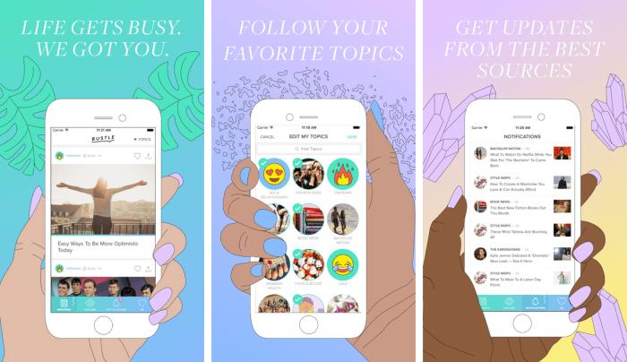 Bustle News App