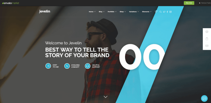 Colorlib Jevelin theme
