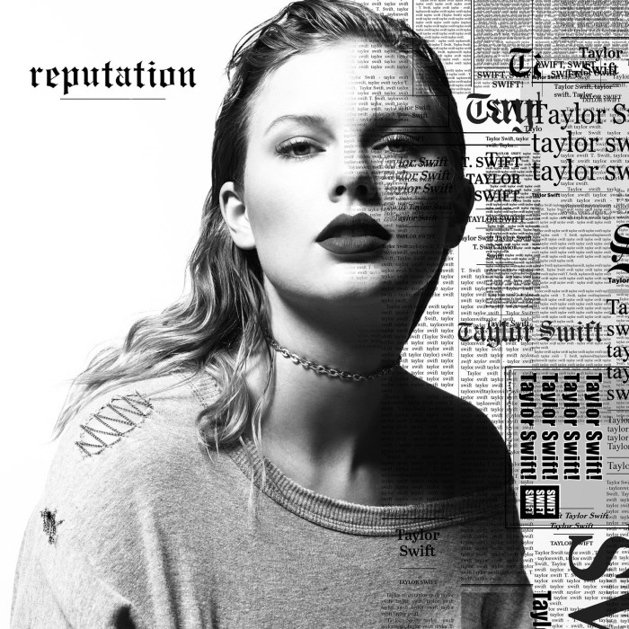 Taylor Swift's sixth studio album, reputation, will be released via Big Machine Records on November 10, 2017.