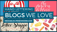 Hand Lettering Blogs