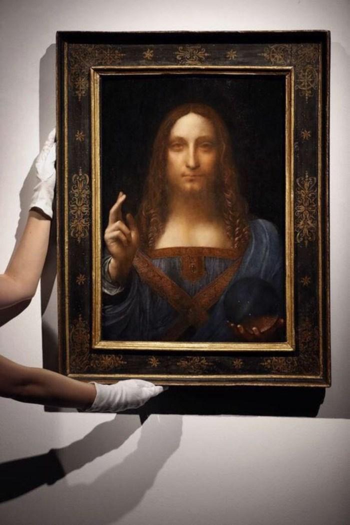 Louvre Abu Dhabi to display Leonardo da Vinci's Salvator Mundi