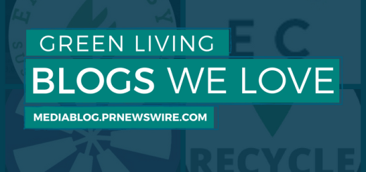 Green Living Blog We Love header - mediablog.prnewswire.com