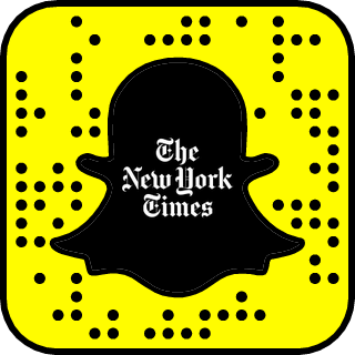 The New York Times on Snapchat
