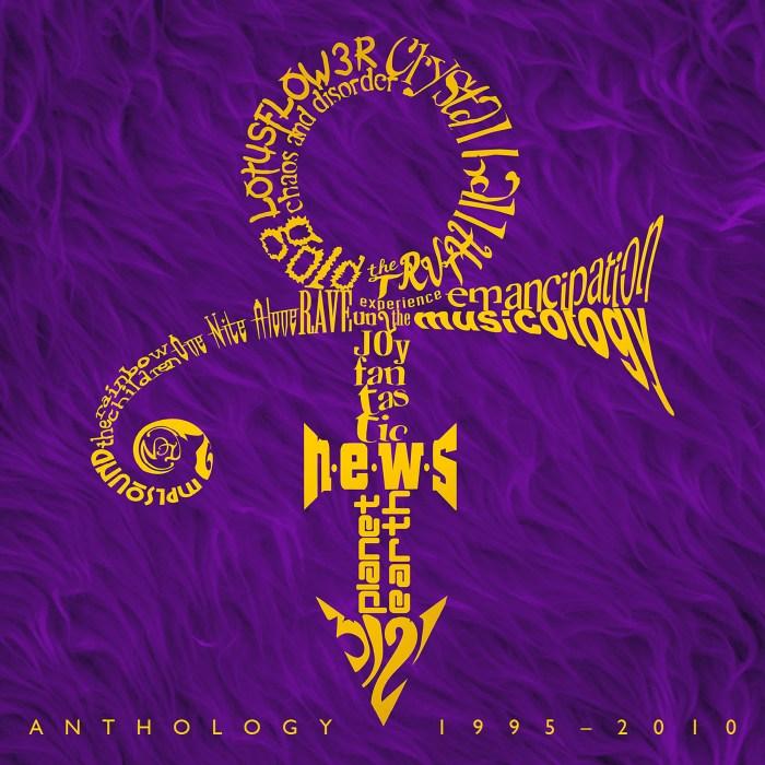 Prince Anthology: 1995-2010 Logo