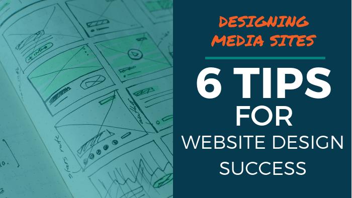 media site design 1