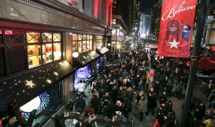 Macy's Window Unveiling and Santaland
