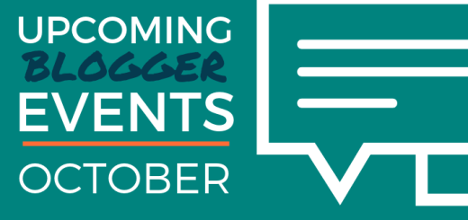 Upcoming Blogger Events - October