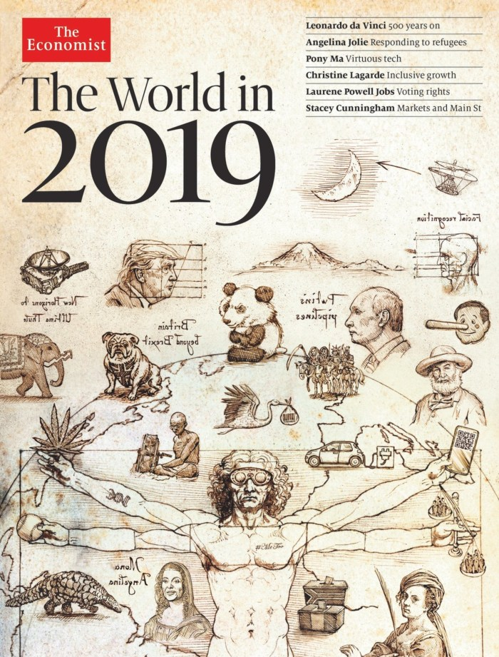 The Economist The World In 2019