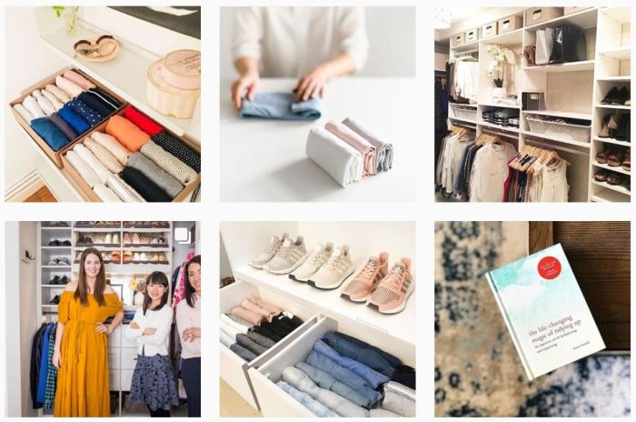 Decluttering Blogs We Love: Six recent posts from @mariekondo on Instagram