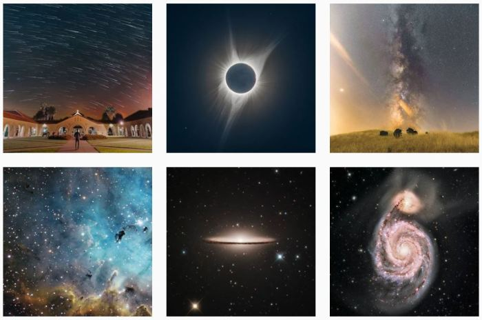 Astronomy Blogs We Love - six recent posts from @universetoday on Instagram
